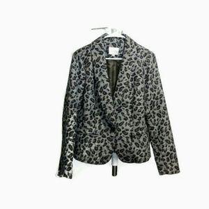 Loft Leopard Print Jacket